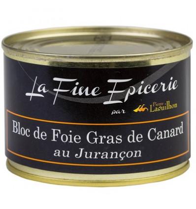 Bloc de foie gras de canard au Jurançon 150 g - Boîte ronde 1/5