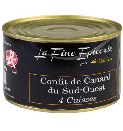 4 CUISSES DE CANARD BOITE