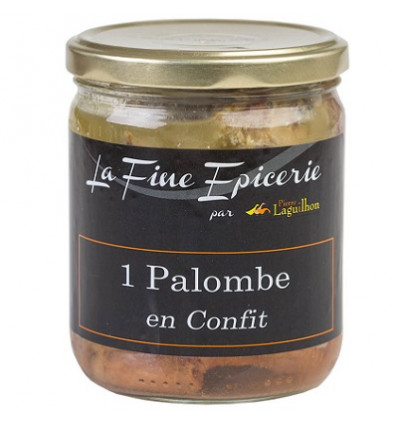 1 PALOMBE en confit 350 g - Verrine 44,6 cl