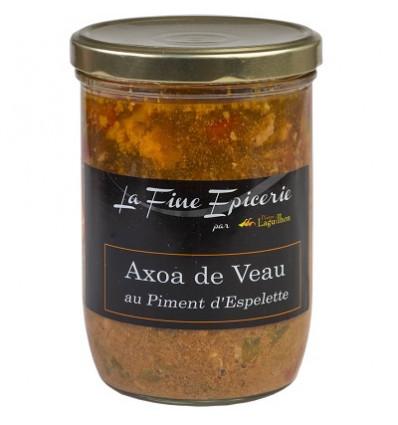 Axoa de veau au piment d'Espelette 750 g - Verrine 85 cl
