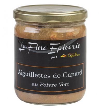 Aiguillettes de canard au poivre vert 385 g - Verrine 44,6 cl
