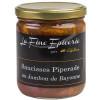 Saucisses piperade au jambon de bayonne 350g - Verrine 85cl