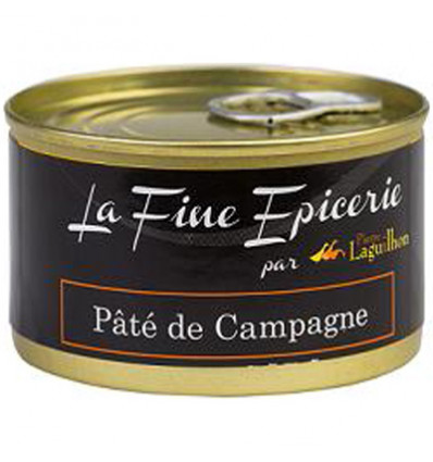 PATE DE CAMPAGNE 125G _ BOITE OF 1/6 RONDE