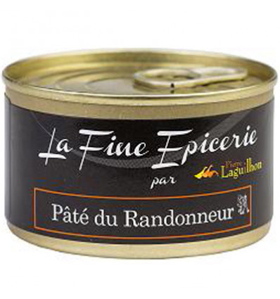 PATE DU RANDONNEUR PUR PORC 125G _ BOITE OF 1/6 RONDE