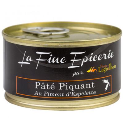 PATE PIQUANT AU PIMENT D ESPELETTE 125G _ BOITE OF 1/6 RONDE