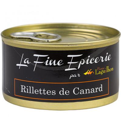 RILLETTES DE CANARD 125G _ BOITE OF 1/6 RONDE