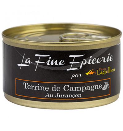 TERRINE DE CAMPAGNE AU JURANCON 125G _ BOITE OF 1/6 RONDE