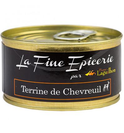 TERRINE DE CHEVREUIL 125G _ BOITE OF 1/6 RONDE