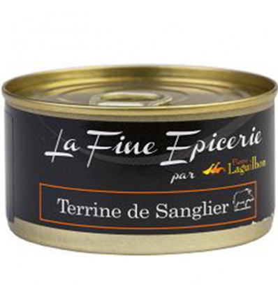 TERRINE DE SANGLIER 125G _ BOITE OF 1/6 RONDE
