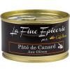 PATE DE CANARD AUX OLIVES 125G _ BOITE OF 1/6 RONDE