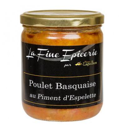 Poulet basquaise au piment d'Espelette - Verrine 385 g