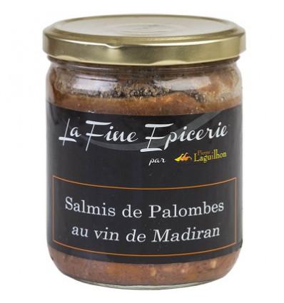 Salmis de palombes au vin de Madiran - Verrine 385 g
