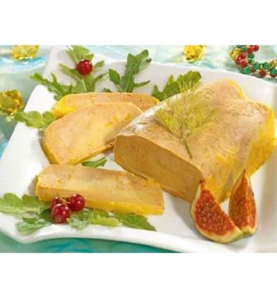 Foie gras de canard entier IGP Sud-ouest - MI-cuit - Lobe 425 - 475 g