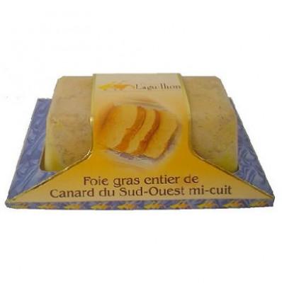 Foie gras de canard entier IGP Sud-ouest - Mi-cuit - Barquette 200 g