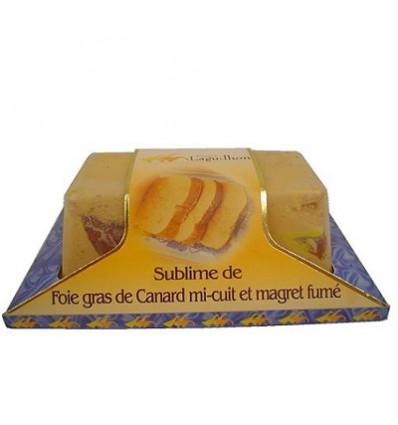 Foie gras de canard entier IGP Sud-ouest au Magret Fumé - Mi-cuit - Barquette 200 g