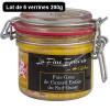 Coffret 6 verrines 200g : Foie gras de canard entier Label Rouge du Sud-ouest 200g