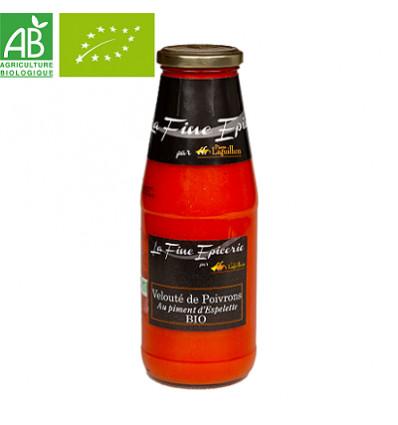 Velouté de poivrons au piment d'Espelette BIO - Bouteille 720 ml