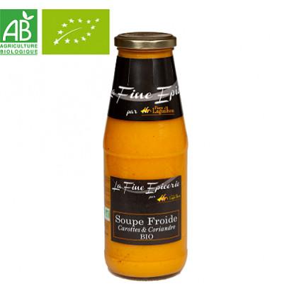 Soupe froide Carottes et Coriandre BIO - Bouteille 720ml