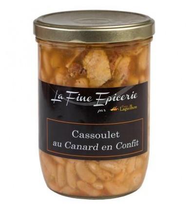 Cassoulet au canard en confit - Verrine 750 g
