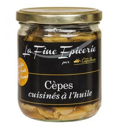 Cépes cuisinés à l'huile cueillette des forêts de France -350 g