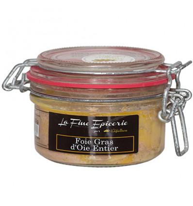 Foie gras d'oie entier - Bocal 130 g