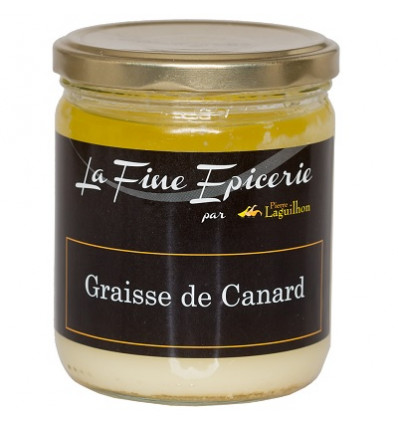 GRAISSE DE CANARD 320 G - VERRINE 44,6 CL