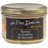 TERRINE AU JAMBON DE BAYONNE 180 g - Verrine 24,5 cl