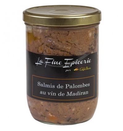 SALMIS DE PALOMBES AU MADIRAN 750 G - VERRINE 85 CL