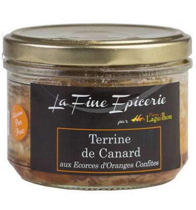 TERRINE DE CANARD aux Ecorces d'Oranges Confites 180 g - Ver 24,5 cl