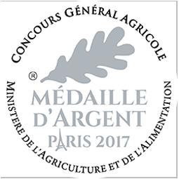Médaille argent 2017