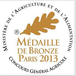 médaille bronze Paris