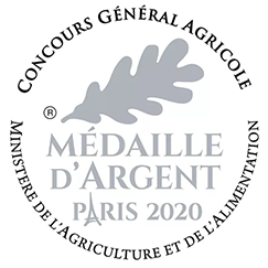 Médaille d'argent Paris 2020