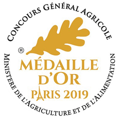 Médaille d'or Paris 2019