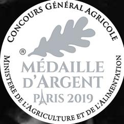 Médaille d'argent Paris 2019