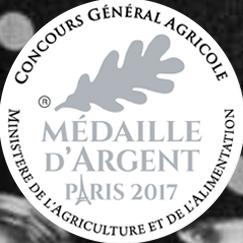 Médaille d'argent Paris 2017