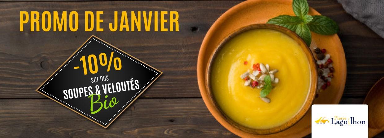 Offre Janvier - soupes BIO