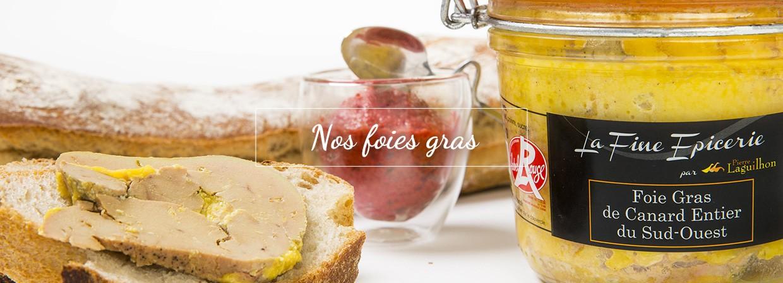 Nos foies gras